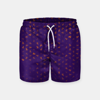Miniature de image de Aries Zodiac Sign Pattern po Swim Shorts, Live Heroes
