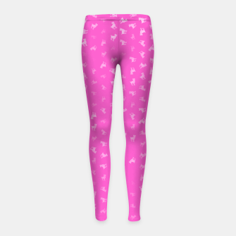 Miniature de image de Aries Zodiac Sign Pattern mag Girl's leggings, Live Heroes