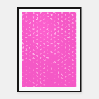 Thumbnail image of Aries Zodiac Sign Pattern mag Framed poster, Live Heroes