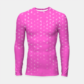 Thumbnail image of Aries Zodiac Sign Pattern mag Longsleeve rashguard , Live Heroes