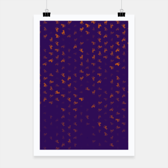 Thumbnail image of Aries Zodiac Sign Pattern po Poster, Live Heroes