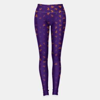Miniature de image de Aries Zodiac Sign Pattern po Leggings, Live Heroes
