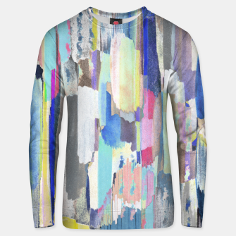 Colorful brushstrokes Unisex sweater thumbnail image