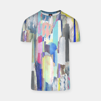 Colorful brushstrokes T-shirt Bild der Miniatur