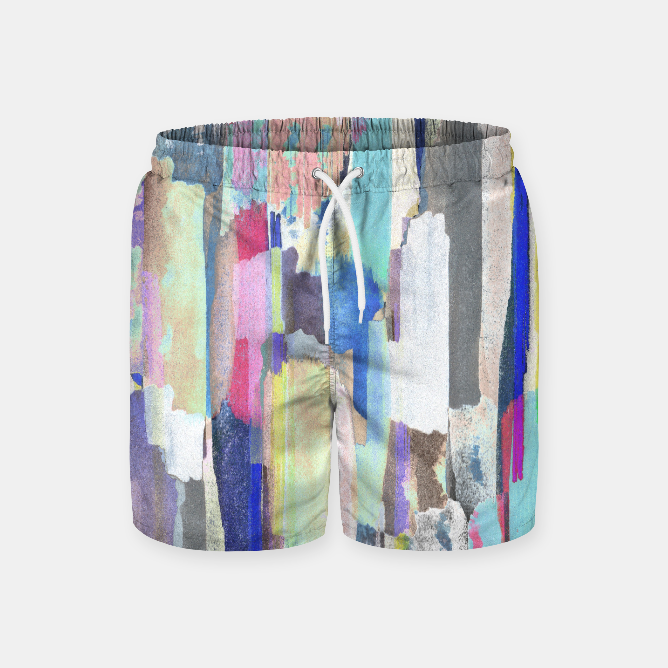 Foto Colorful brushstrokes Swim Shorts - Live Heroes