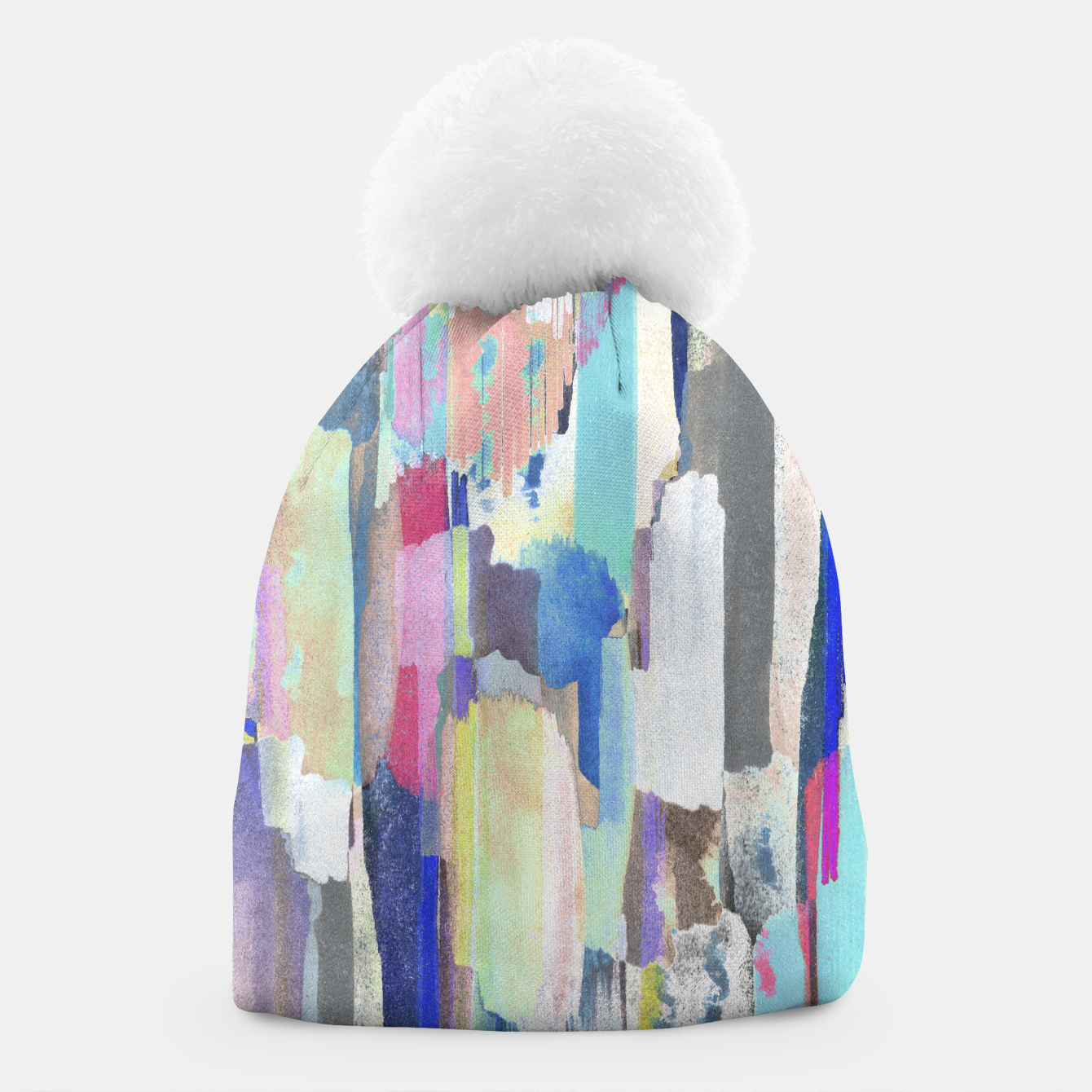 Foto Colorful brushstrokes Beanie - Live Heroes