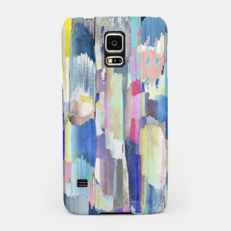 Colorful brushstrokes Samsung Case Bild der Miniatur