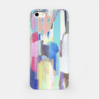 Colorful brushstrokes iPhone Case thumbnail image