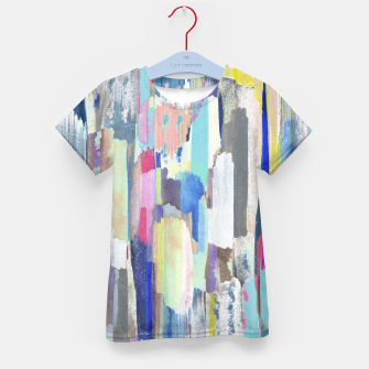 Colorful brushstrokes Kid's t-shirt Bild der Miniatur