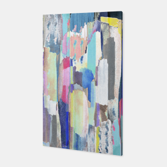 Colorful brushstrokes Canvas Bild der Miniatur