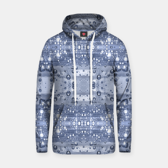 Miniatur Drop Water Collage Print Pattern Hoodie, Live Heroes