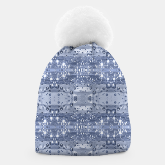 Thumbnail image of Drop Water Collage Print Pattern Beanie, Live Heroes