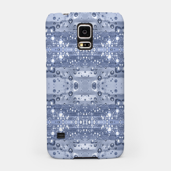 Miniatur Drop Water Collage Print Pattern Samsung Case, Live Heroes