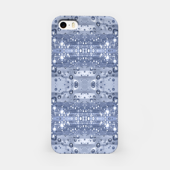 Miniatur Drop Water Collage Print Pattern iPhone Case, Live Heroes