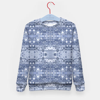Miniatur Drop Water Collage Print Pattern Kid's sweater, Live Heroes