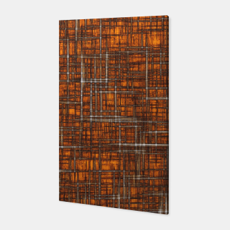 Thumbnail image of geometric square pattern drawing in orange brown Canvas, Live Heroes