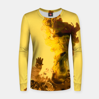 Thumbnail image of Astro Yellow Women sweater, Live Heroes