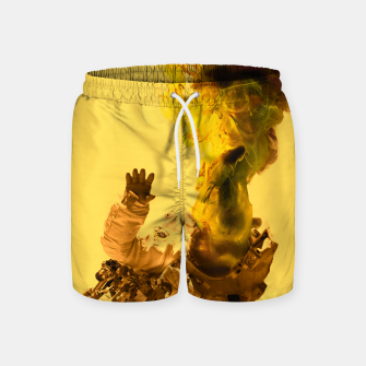 Thumbnail image of Astro Yellow Swim Shorts, Live Heroes