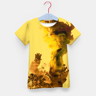Miniatur Astro Yellow Kid's t-shirt, Live Heroes