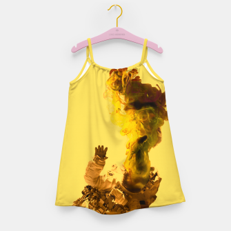 Miniatur Astro Yellow Girl's dress, Live Heroes