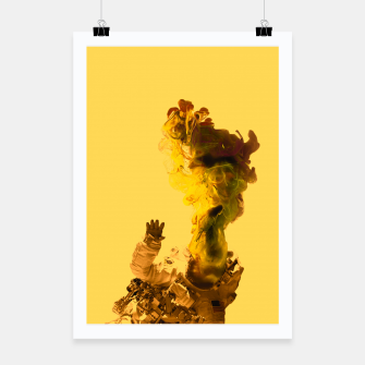 Thumbnail image of Astro Yellow Poster, Live Heroes