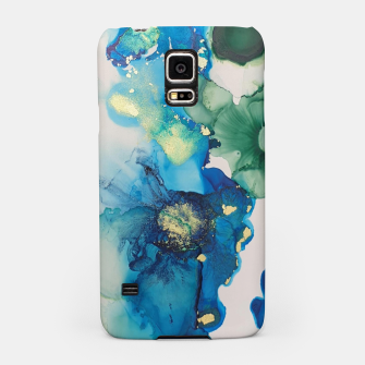 Thumbnail image of flowers girly blue green gold   Étui pour Samsung, Live Heroes
