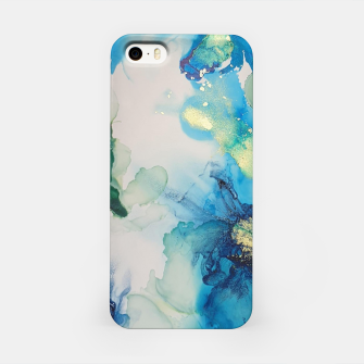 Imagen en miniatura de flowers girly blue green gold   Étui pour Iphone, Live Heroes