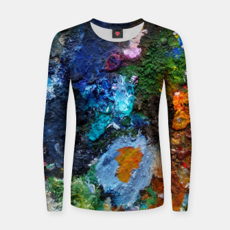 Thumbnail image of Oil Palette 2015 summer Women sweater, Live Heroes
