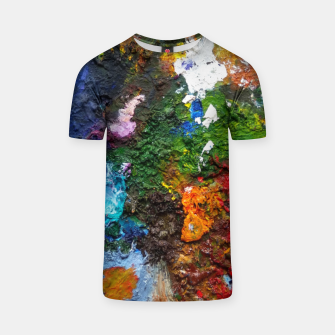 Thumbnail image of Oil Palette 2015 summer T-shirt, Live Heroes