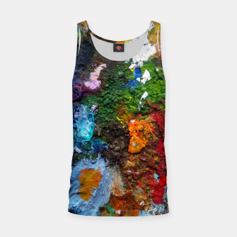 Thumbnail image of Oil Palette 2015 summer Tank Top, Live Heroes