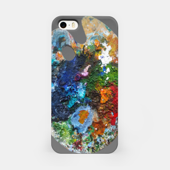 Thumbnail image of Oil Palette 2015 summer iPhone Case, Live Heroes