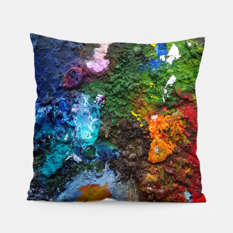 Thumbnail image of Oil Palette 2015 summer Pillow, Live Heroes