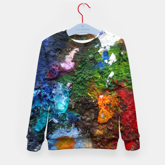 Thumbnail image of Oil Palette 2015 summer Kid's sweater, Live Heroes