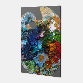 Thumbnail image of Oil Palette 2015 summer Canvas, Live Heroes