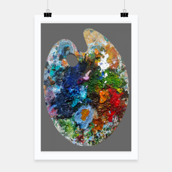 Thumbnail image of Oil Palette 2015 summer Poster, Live Heroes