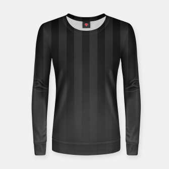 Thumbnail image of Gradient Stripes Pattern gr Women sweater, Live Heroes