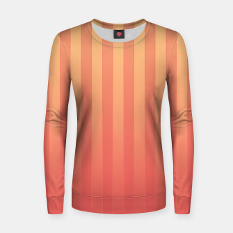 Thumbnail image of Gradient Stripes Pattern ol Women sweater, Live Heroes