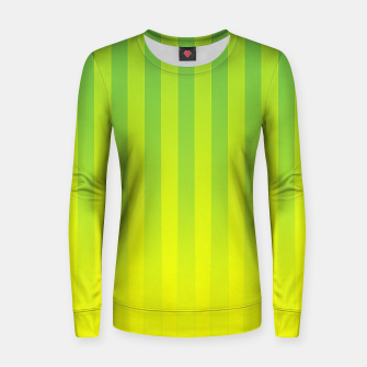 Thumbnail image of Gradient Stripes Pattern gy Women sweater, Live Heroes