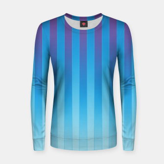 Thumbnail image of Gradient Stripes Pattern ptb Women sweater, Live Heroes