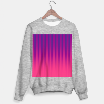 Thumbnail image of Gradient Stripes Pattern cpp Sweater regular, Live Heroes