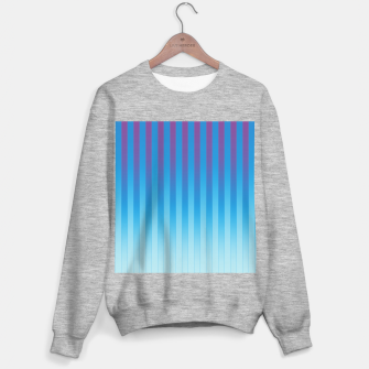 Thumbnail image of Gradient Stripes Pattern ptb Sweater regular, Live Heroes