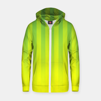 Thumbnail image of Gradient Stripes Pattern gy Zip up hoodie, Live Heroes