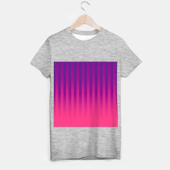 Thumbnail image of Gradient Stripes Pattern cpp T-shirt regular, Live Heroes