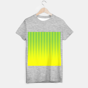 Thumbnail image of Gradient Stripes Pattern gy T-shirt regular, Live Heroes