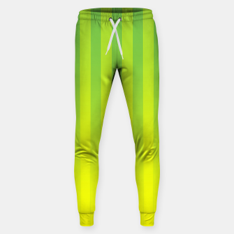 Thumbnail image of Gradient Stripes Pattern gy Sweatpants, Live Heroes