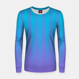 Thumbnail image of Gradient Stripes Pattern ctb Women sweater, Live Heroes
