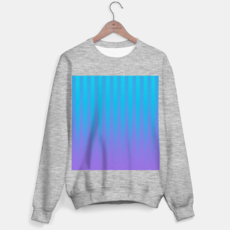 Thumbnail image of Gradient Stripes Pattern ctb Sweater regular, Live Heroes