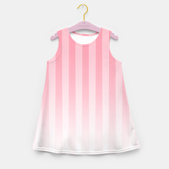 Thumbnail image of Gradient Stripes Pattern pw Girl's summer dress, Live Heroes
