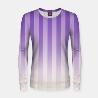 Thumbnail image of Gradient Stripes Pattern pl Women sweater, Live Heroes