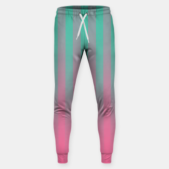 Thumbnail image of Gradient Stripes Pattern ctp Sweatpants, Live Heroes